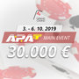 APAT German Amateur Poker Championship 3.-6.10.2019