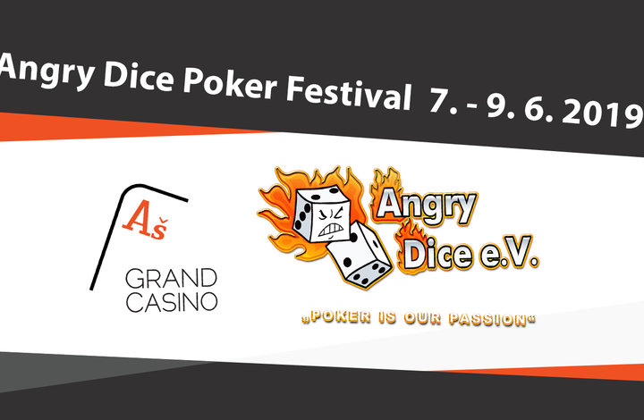 Angry Dice Poker Festival 7.-9.6.2019