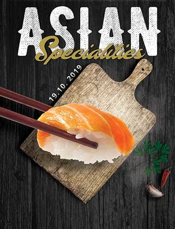 Asian specialties
