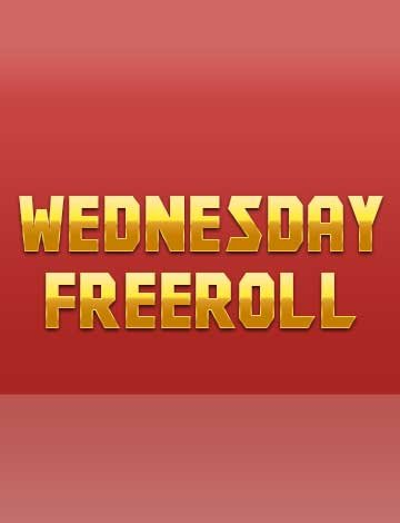 Wednesday Freeroll